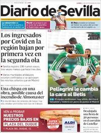 Portada Diario de Sevilla 2020-09-21