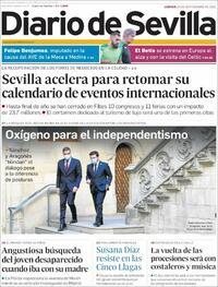 Portada Diario de Sevilla 2021-09-16