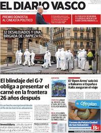 Portada El Diario Vasco 2019-08-20