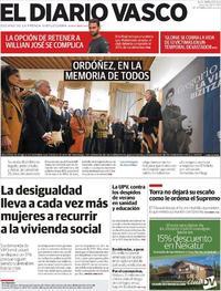 Portada El Diario Vasco 2020-01-24
