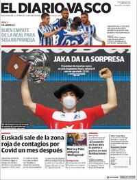 Portada El Diario Vasco 2020-11-30