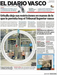 Portada El Diario Vasco 2021-05-07
