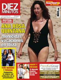 Portada Diez Minutos 2019-07-10