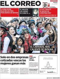 Portada El Correo 2019-03-03