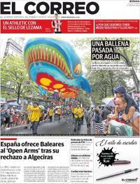 El Correo - 19-08-2019
