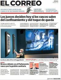 Portada El Correo 2021-05-07