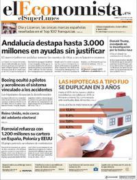 Portada El Economista 2019-03-25