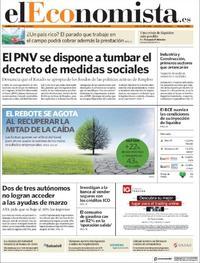 Portada El Economista 2020-04-08
