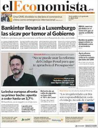 Portada El Economista 2020-01-24