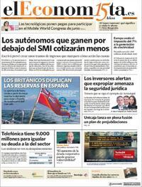 Portada El Economista 2021-03-04