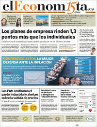 Portada El Economista 2021-10-23