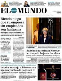 Portada El Mundo 2018-11-15