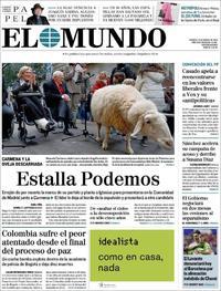 Portada El Mundo 2019-01-18