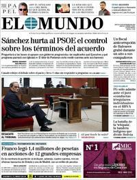 Portada El Mundo 2019-11-19