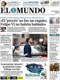 Portada El Mundo 2019-10-22