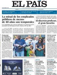 Portada El País 2019-08-18