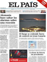 Portada El País 2019-08-20