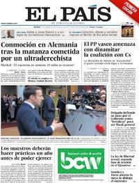 Portada El País 2020-02-21