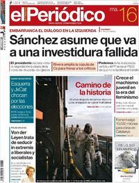 Portada El Periódico 2019-07-16