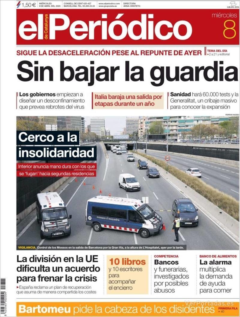 Portada Diario de Sevilla 2020-04-08