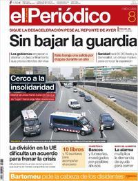 Portada El Periódico 2020-04-08