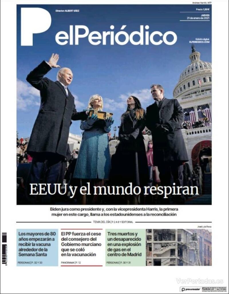 Portada Diario de Sevilla 2021-01-21