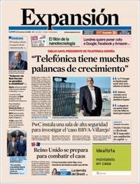 Portada Expansión 2019-03-25