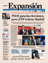 Portada Expansión 2019-05-27
