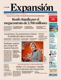 Portada Expansión 2020-01-24
