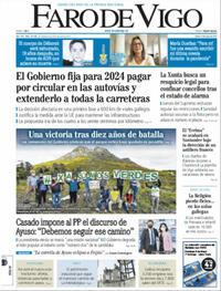 Portada Faro de Vigo 2021-05-06