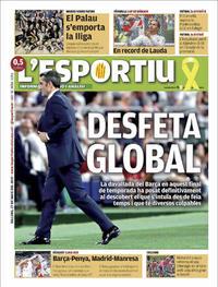 Portada L'Esportiu 2019-05-27