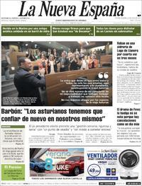 Portada La Nueva España 2019-07-16