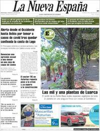 Portada La Nueva España 2020-07-06