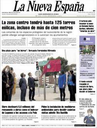 Portada La Nueva España 2021-03-04