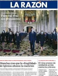 Portada La Razón 2020-07-07