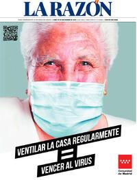 Portada La Razón 2020-11-30