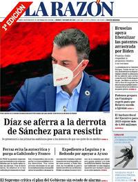 Portada La Razón 2021-05-07
