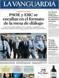 Portada La Vanguardia 2019-12-11