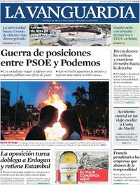 Portada La Vanguardia 2019-06-24