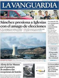 La Vanguardia - 27-06-2019