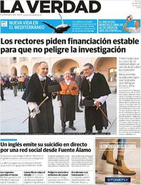 Portada La Verdad 2018-09-25