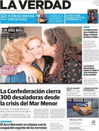 Portada La Verdad 2019-04-05