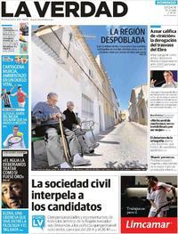 Portada La Verdad 2019-04-07