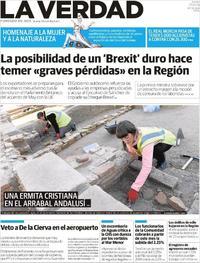 Portada La Verdad 2019-01-17