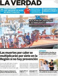 Portada La Verdad 2019-08-20