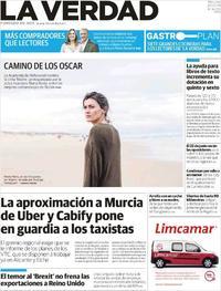 Portada La Verdad 2019-01-23