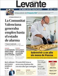 Portada Levante 2020-04-08