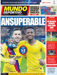Portada Mundo Deportivo 2019-12-11