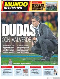 Portada Mundo Deportivo 2019-05-27