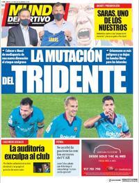 Portada Mundo Deportivo 2020-07-07